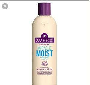 Free Sample of Aussie Moisture Miracle