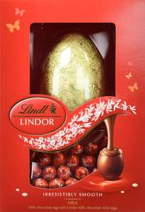 Lindor Easter Egg 215 g (Pack of 4) - £8.54 Prime / £13.03 non Prime @ Amazon