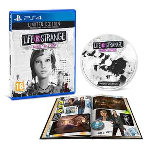 Life is Strange Before The Storm Limited Edition PS4 £11.86 (Use code weekend15) @ thegamecollection