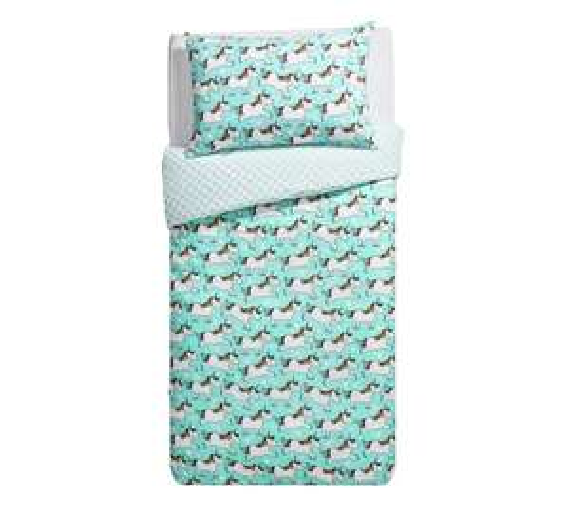 Unicorn Single bed sets £5.99 @ Argos