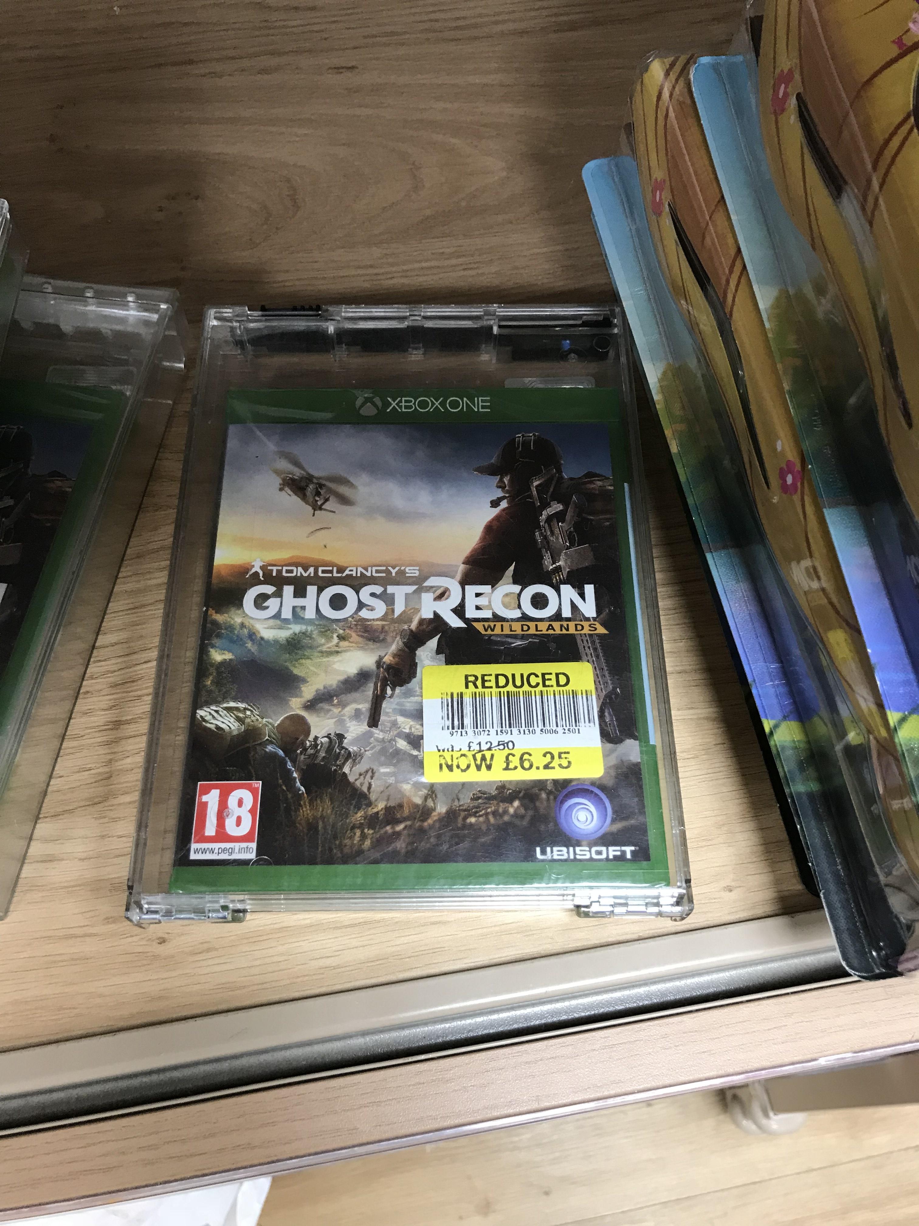 Ghost recon Wildlands Xbox  £6.25 instore @ Tesco (Ipswich)