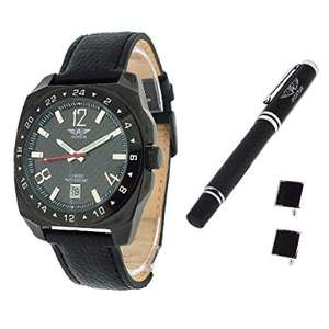 British Forces – Wrist Watch, Leather Strap Black - Sold by BrightRetail / Fulfilled by Amazon - £18.95 Prime / £23.90 non-Prime