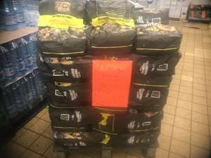 10 to 14 kg charcoal briquettes £2.99 at Lidl