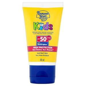 *-* Keep Your Children Protected From The Sun For Less *-* Banana Boat Kids Sun Protection Lotion SPF50 60ml only £2 (Usually £8) @Superdrug in-store & online