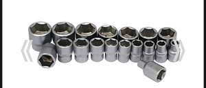 18 Craftright Assorted Drive Sockets for £1. Free click & collect. Plenty of stock - £1 @ Homebase