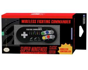 HORI Super Nintendo Classic Edition Wireless Fighting Commander Controller. Officially Licensed by Nintendo. Was £29.99 reduced to £17.99 @ Argos - free C&C