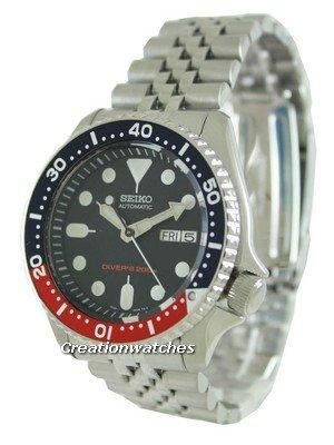Seiko Automatic Diver's 200M Jubilee Bracelet SKX009K2 Men's Watch £154 @ Creation Watches