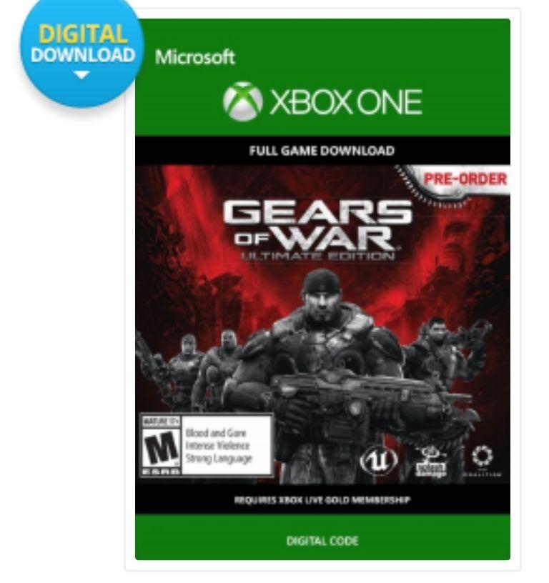 Gears of war Ultimate Edition Xbox £5.99 @ CDkeys