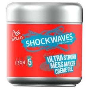 Wella Shockwaves Ultra Strong Power Mess Constructor £1 @ Boots Free c&c
