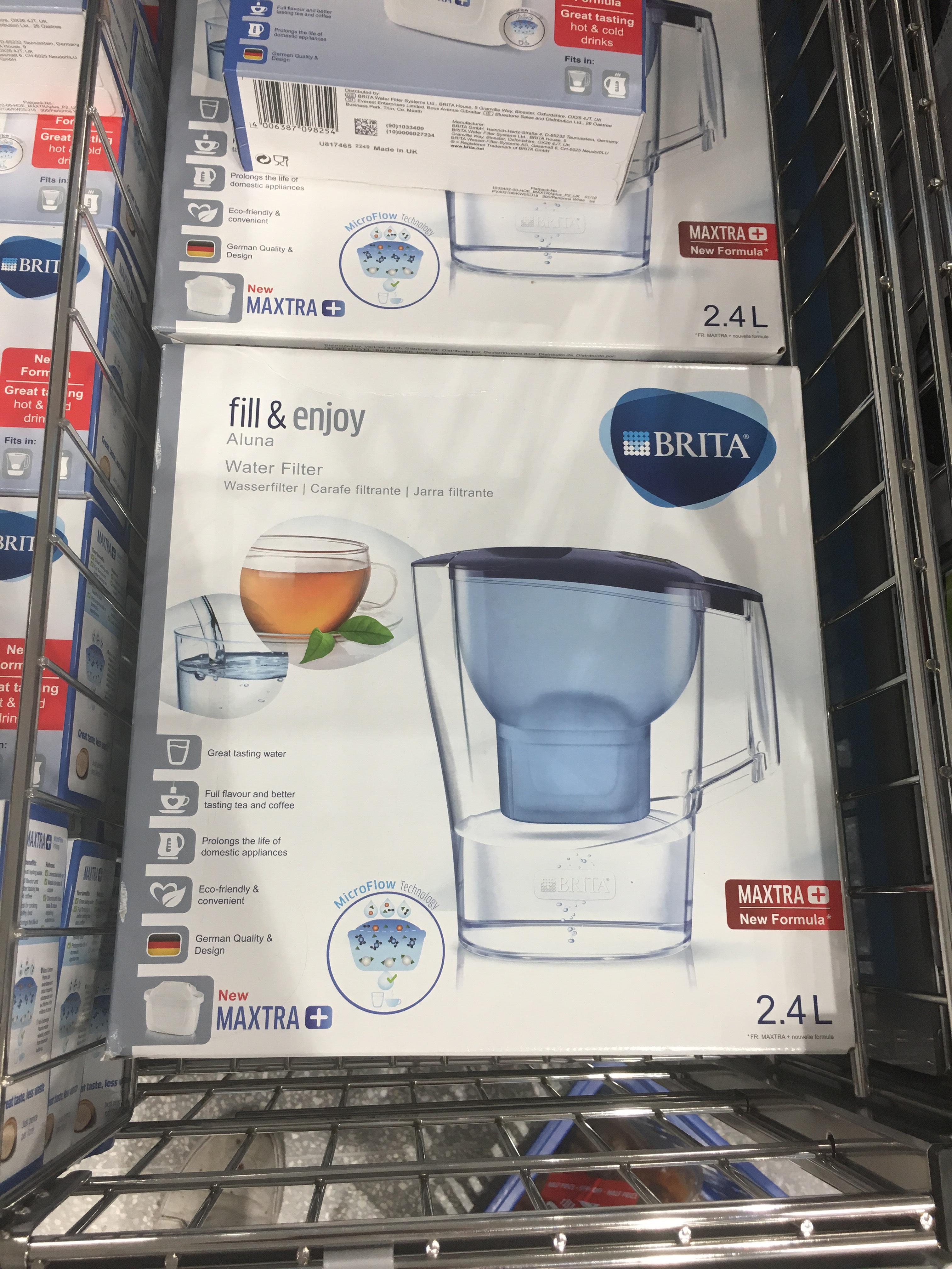 Aluna Water Filter jug £9.99 @ Aldi