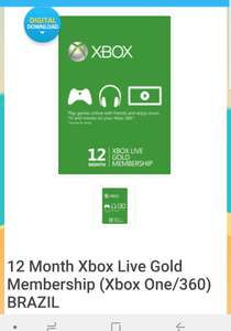 13 months XBOX LIVE GOLD £19.99 / £18.99 w/code @ CDKeys (Brazil VPN required) BACK IN StOCK