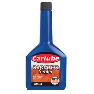 Carlube Radiator Sealer - 300ml. Free DHL delivery. PayPal. 3.15% potential cash back TCB £1.17 at Carparts4less