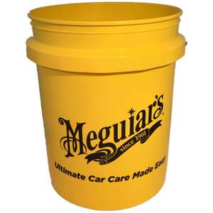 Meguiars RG203 5 Gallon Yellow Bucket & halfords have 20% off all meguiars. Free click & collect