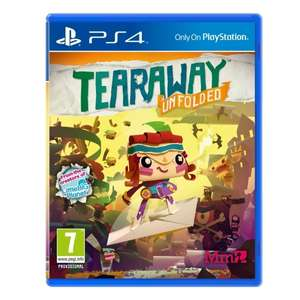 Tearaway Unfolded (PS4) £5.99 Delivered @ 365games