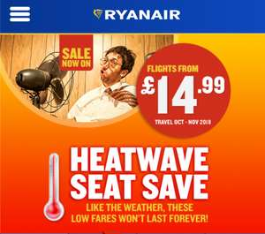 Cheap Ryanair Flights Belfast Int to London STN from £9.99 - in July / Aug / Sept