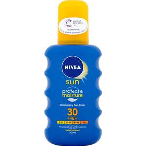 Nivea Suncare 2 for £8 at Wilko