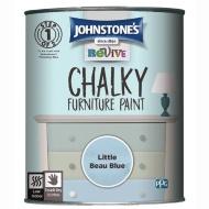 Johnstones Revive Chalk Paint 750ml vintage duck egg blue ( 4 other colours) now £7.99 @ B&M