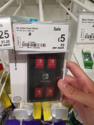 Nintendo switch game carrying case £5 instore @ Asda hunts cross Liverpool