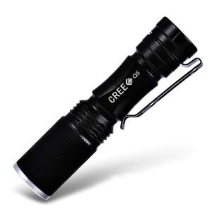 CREE XP-E Q5 600 lumen LED torch £1.34 delivered with code @ Dresslily