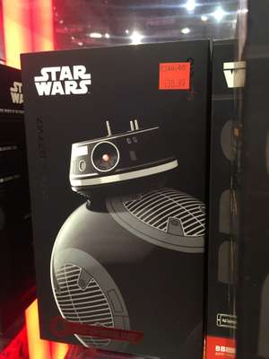 Star Wars R2D2 and BB9E Sphero £39.99 at Disney Store instore (Gateshead Metrocentre ) was £140. And BB8 for £69.99