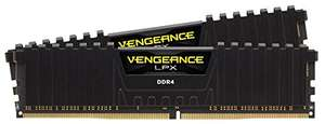 Corsair Vengeance LPX 16 GB RAM (2 x 8 GB) DDR4 3000 MHz C15 XMP 2.0 £164.99 - Sold by Amazon