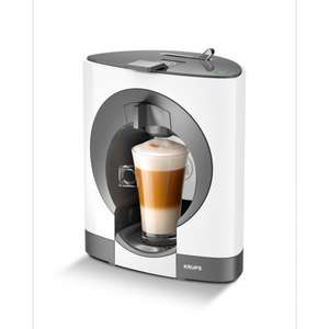 NESCAFE Dolce Gusto Oblo, Manual Coffee Machine by Krups - White £39 @ Tesco