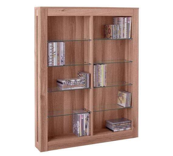 Hygena Cubic CD and DVD Media Storage - Oak Effect £54.99 @ Argos