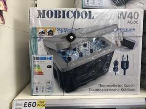 Mobicool W40 Thermoelectric Cool Box- Half Price - £60 @ Tesco