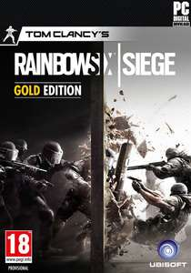 TOM CLANCY'S RAINBOW SIX® SIEGE - GOLD EDITION  £34.99 OR £28 (with Uplay 20% off discount)