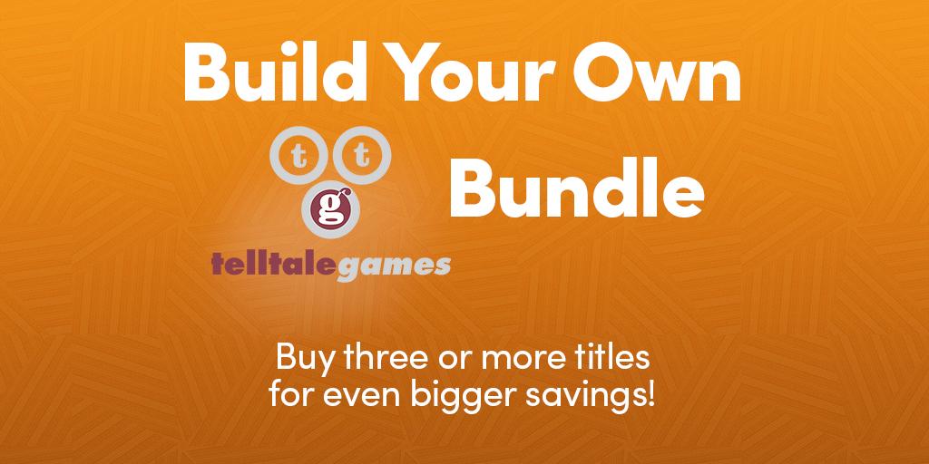 Build your own Telltale bundle @ Humblebundle