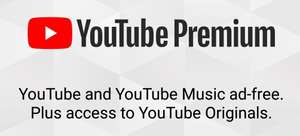 YouTube Music £2.04 / Premium £2.40 / Family £3.60 @ YouTube (via Russian VPN)!