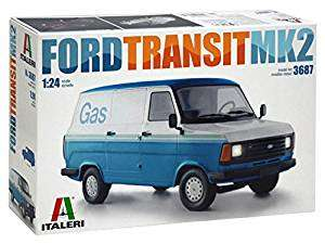 Italeri Ford Transit MK 2, 1\24 model kit £23.88 @ amazon, easy build skill level 1