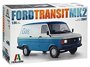 Italeri Ford Transit MK 2, 1\24 model kit £23.88 @ amazon, easy build skill level 1