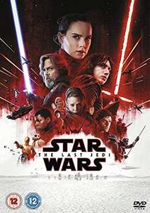 Star Wars: The Last Jedi [DVD]  £4.90 Prime £7.89 Non Prime @ Amazon