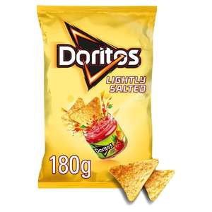 3 for £2 : Doritos 180g Tangy cheese,lime,chilli,salted,cool @ Morrisons