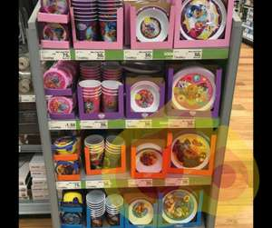 Kids reusable Cups, Plates & Bowls 50p each @ Asda instore