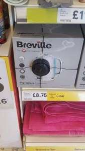 Breville Impressions kettle £8.75 instore at Tesco Sale branch