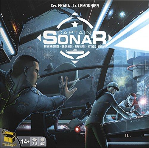 Captain Sonar (2016) - Board Game - £14.99 (Prime) / £19.48 (non Prime) at Amazon