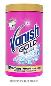 Vanish Gold Stain Remover Powder, 1.35 kg £4.55 Amazon prime and subscribe and save