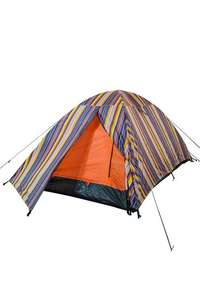 Patterned Festival Dome 2 Man Tent £13.59 with code + £2.50 del Click and Collect. Spend £20 and free CC @ Mountain Warehouse