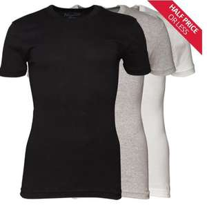 Original Penguin sale eg 3 pack t-shirts were £32.99 now £11.99, flip flops were £24.99 now £7.99 plus £4.49 delivery - more in op @ M and M Direct