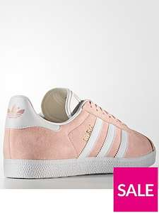 "Adidas gazelle for ""real men"" dusty pink CW £23.90 @ very delivered to your local CNC + quidco (UK 9s 10s 11s 12s available)"