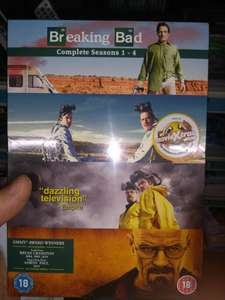 Breaking Bad DVD box set seasons 1-4 £1 instore @ Poundland