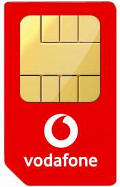 Vodafone 12 Month Red Entertainment Sim 20gb, Unlimited Minutes & Texts £24 p/m 12 months £288 @ e2save - £126 cashback