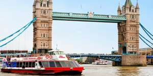 3 day Hop-on Hop-off London Thames River Cruise - £11 @ Travelzoo