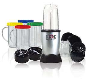 Nutribullet Magic Bullet Blender Food processor In 17 Piece Set Stainless Steel £35 @ Tesco / Ebay