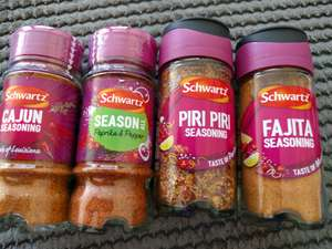 Schwartz spices only a paaaand at Sainsbury's - £1
