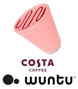 Free COSTA Gift Card £2.45 from WUNTU (THREE) this Friday 13 JUL 2018