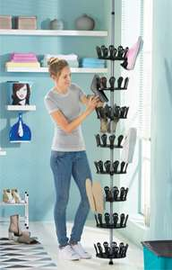 Shoe Carousel for upto 48 pairs of shoes £14.99 at LIDL