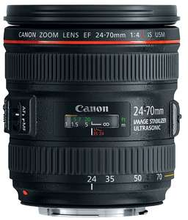 Canon EF 24-70mm f4L IS USM Lens - £624 @ Clifton Cameras